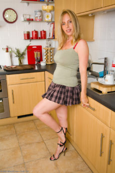 AllOver30 – Lucy Is One Horny Busty Blonde MILF