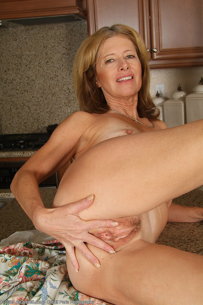 Hot 57 year old cougar talking nasty and cumming for her cub 6