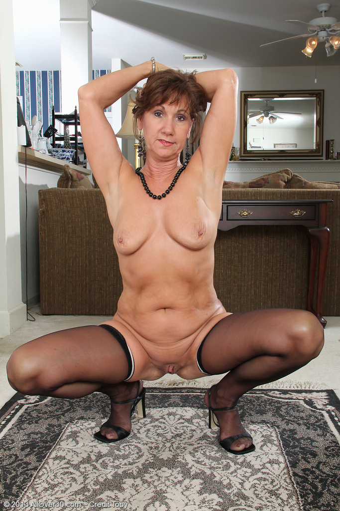 1 Private Mature Pantyhose Strip Boss