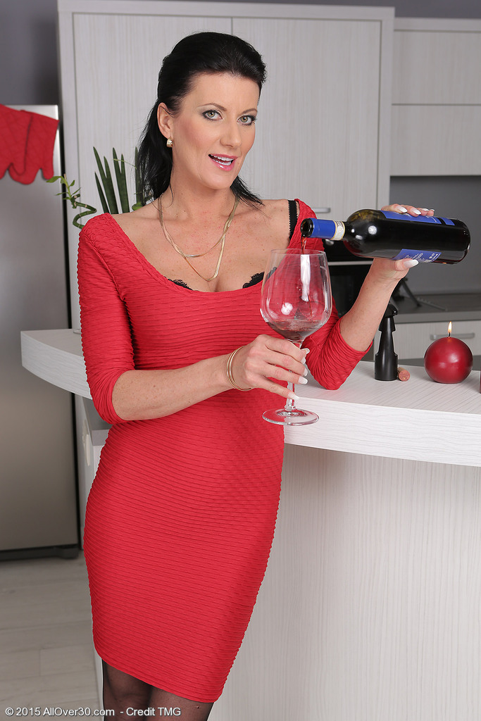 For decided girl milf wine