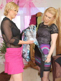 Viktoria Zashu and Lu Berry