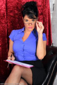 Leah H - Sexy secretary Leah H
